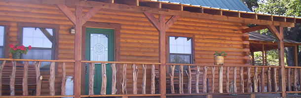 Cabins | Trickle Creek Cabins - Glen Rose, TX